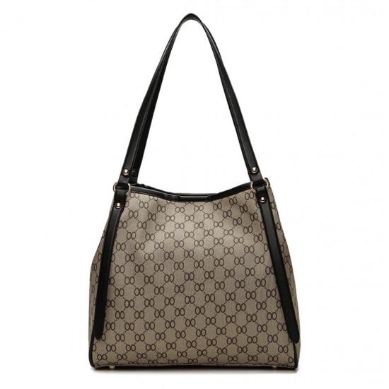 Bolso de mano de piel sintética para mujer, bolso de hombro, cartera BOL00006