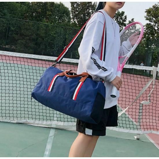 Bolsa de gran capacidad para yoga, gimnasio, bolsa de deporte duradera con compartimento para zapatos BOL00144