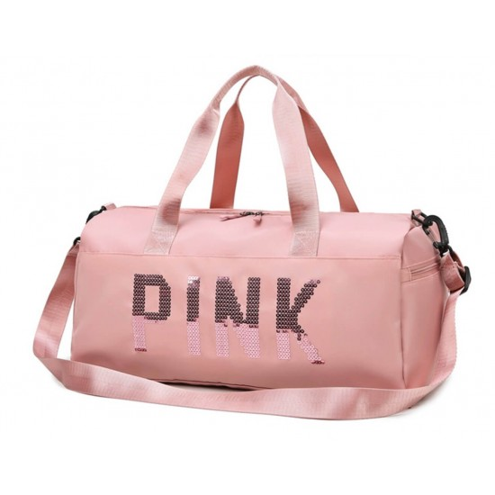 Bolsa de gimnasio para mujer, bolsa de entrenamiento con compartimento para zapatos BOL00145