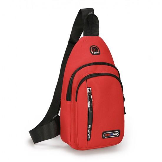 Mochila bandolera de nailon para viajes, vacaciones, excursiones, escuela, camping y compras BOL00065