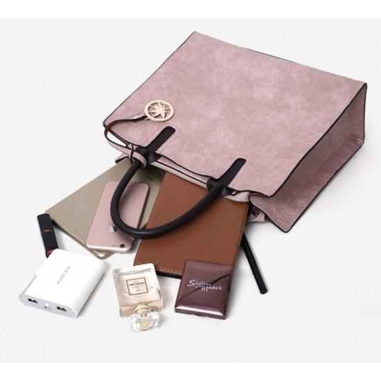 Bolsos de hombro con asa superior, bolso de mano, juego de 3 piezas BOL00081