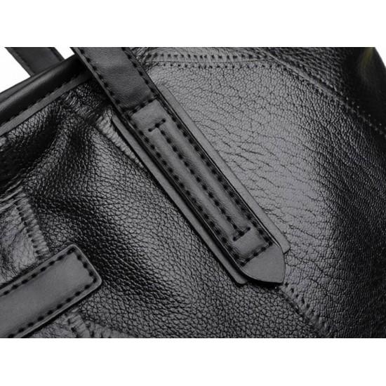 Bolso de mano de cuero suave de gran capacidad BOL00179