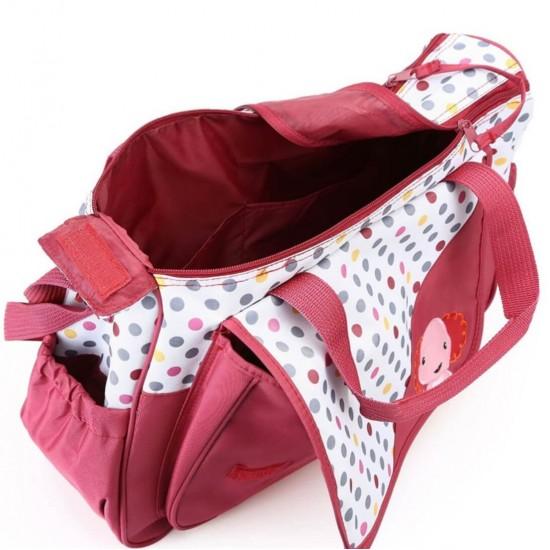 5PCS bolsa de pañales Tote Set - Bolsas de bebé para mamá BOL00185