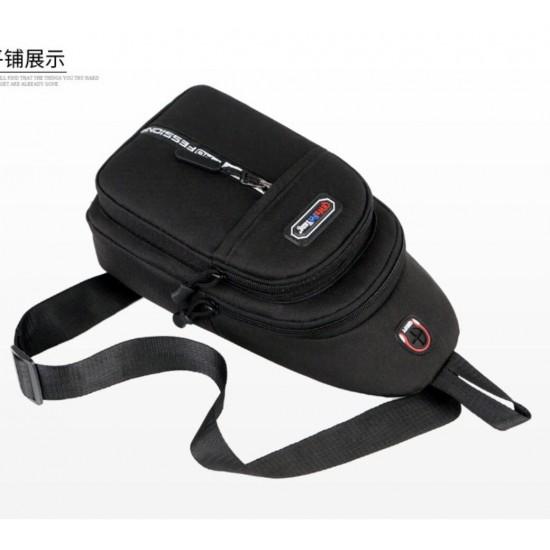 Mochila bandolera de nailon para viajes, vacaciones, excursiones, escuela, camping y compras BOL00066