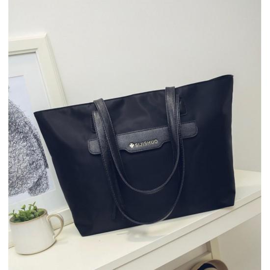 Bolso de nailon grande para mujer, bolso impermeable BOL00116