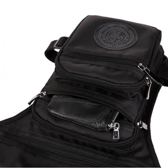 Bolso de nailon impermeable para la pierna, para andar en la moto, en la bicicleta BOL00150