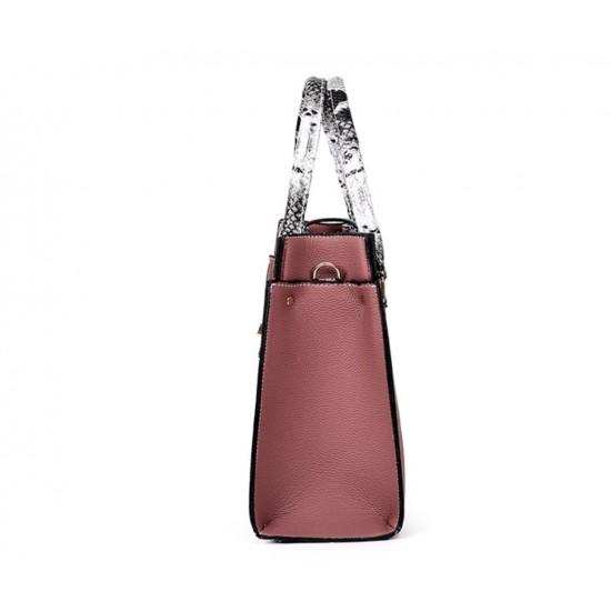 Bolsos de piel sintética para mujer, bolsa de hombro, monedero+tarjetero, 4 unidades BOL00075