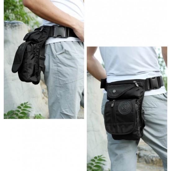 Bolso de nailon impermeable para la pierna, para andar en la moto, en la bicicleta BOL00151