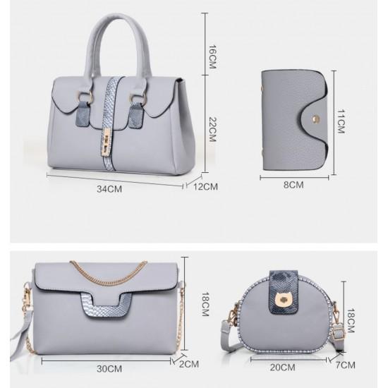 Bolso de mano para mujer, 6 piezas BOL00044