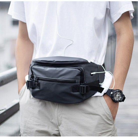 Riñonera con cinturón ajustable, múltiples bolsillos para hombres BOL00093