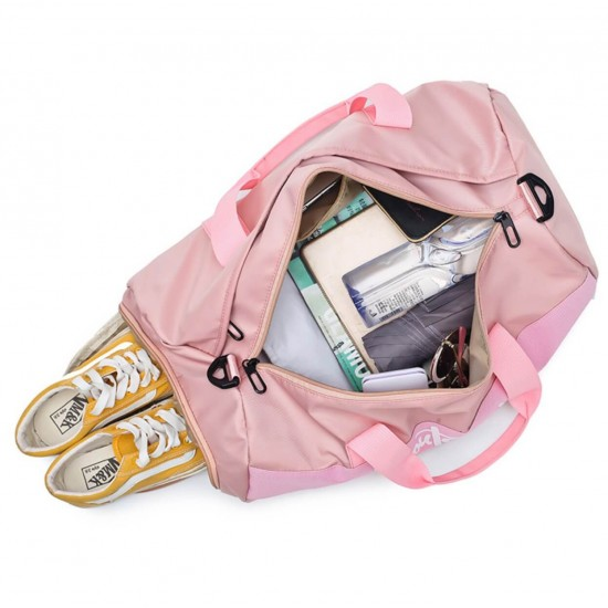 Bolsa de deporte para gimnasio con compartimento para zapatos BOL00142
