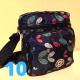 Bolso bandolera con múltiples bolsillos, impermeable, para mujer BOL00121
