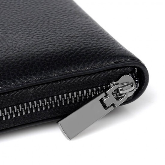 Billetera larga para hombre con zipper CAR00011