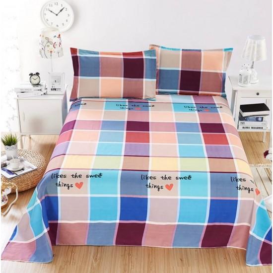 Ropa de cama, sábana y dos fundas SAB00005T