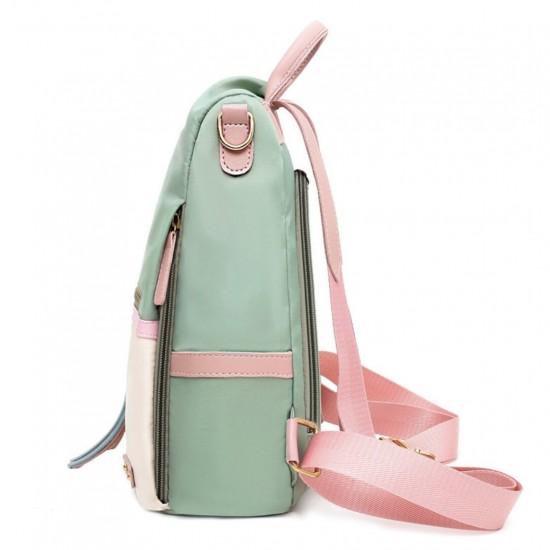 Mochila para mujer anti robo, mochila impermeable de nailon MOC00037