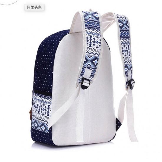 Mochila de lona gruesa para la escuela, bolso de uso diario MOC00085