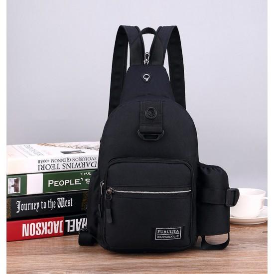 Mochila bandolera impermeable con bolsillo para botella de agua MOC00105