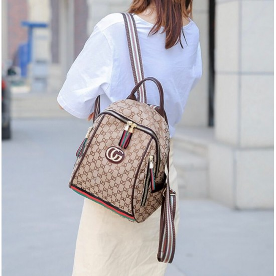 Mochila de moda de nailon impermeable para mujer MOC00153