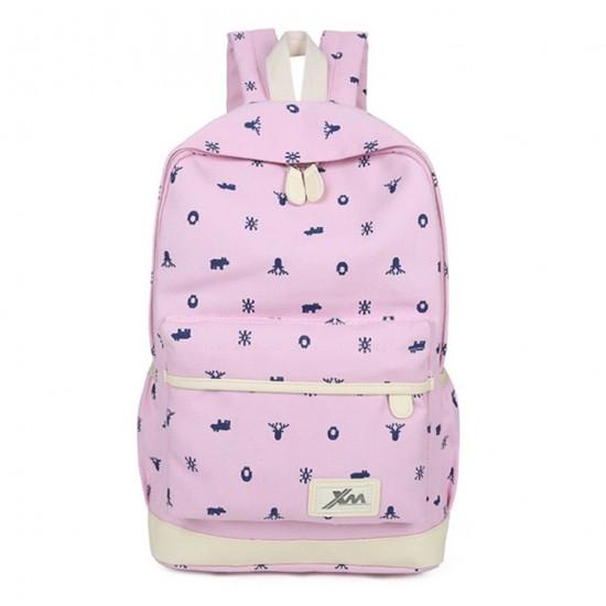 Mochila de lona ligera, linda mochila para adolescentes y mujeres MOC00004