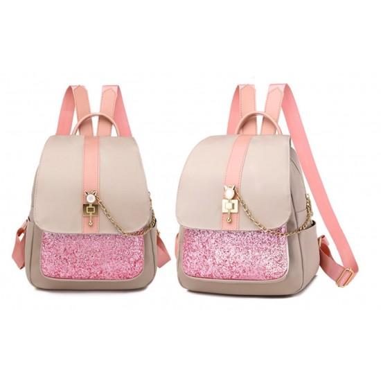 mochila para mujer, multibolsillos, gran capacidad, bolso de hombro MOC00174