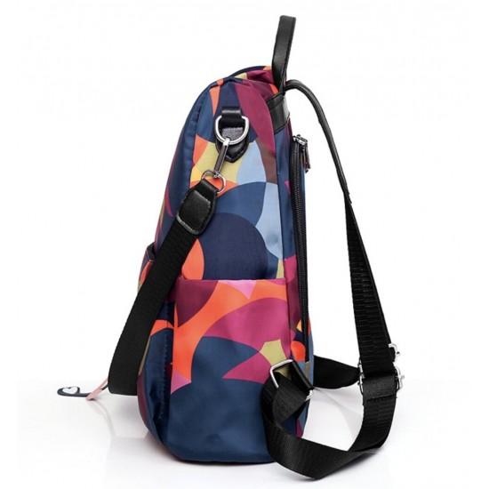 Mochila para mujer impermeable, tela Oxford, cremallera, bolso de hombro MOC00045