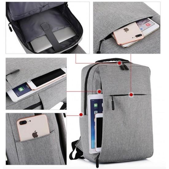 Mochila del ordenador portátil con el puerto de carga USB, resistente al agua MOC00158