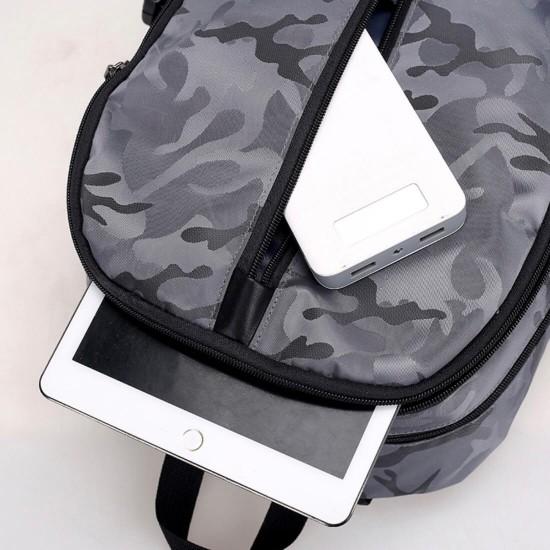 Mochila antirrobo para portátil, con funda acolchada para portátil MOC00119