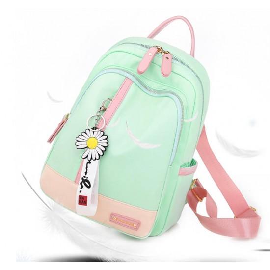 Mochila para mujeres, nylon antirrobo,mochila de moda casual, ligera, escuela MOC00166