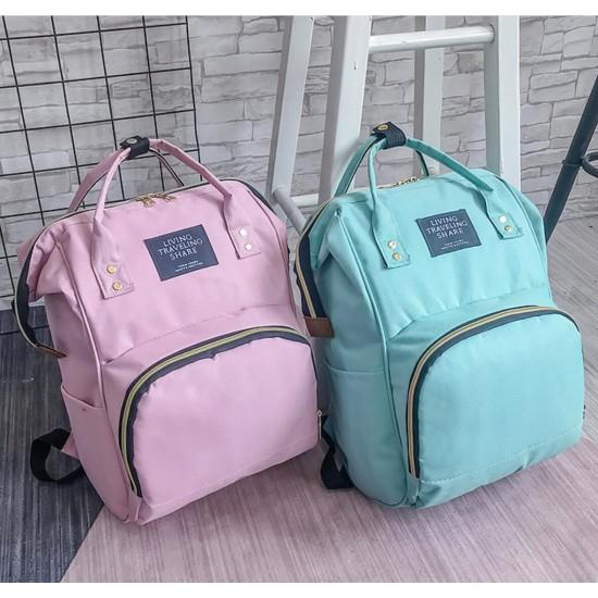 Bolsa para pañales multifunción para bebé, mochila para mamá MOC00140