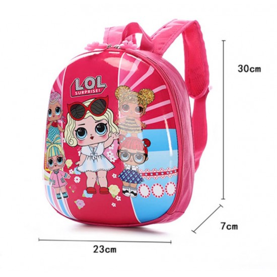 Mochila tamaño mediano para niños diseño LOL MOC00090
