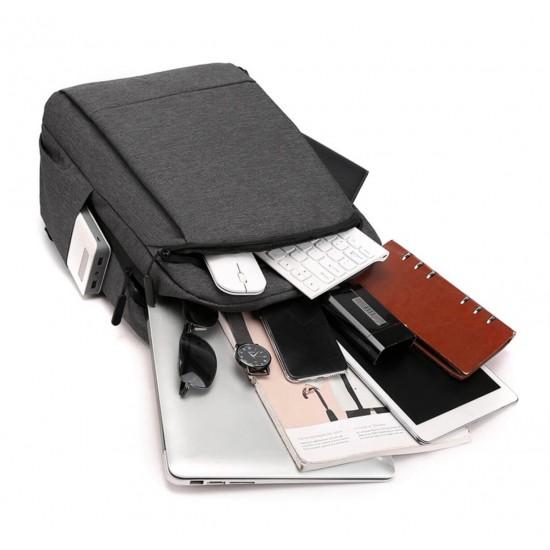 Mochila para portátil de negocios y viajes, para hombres y mujeres, nailon MOC00102
