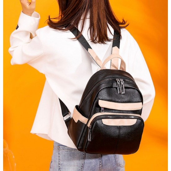 Mochila para mujer, cuero sintétic0, diseño de moda MOC00150