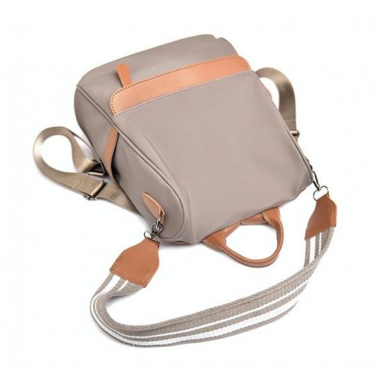 Mochila para mujer de nailon, antirrobo, a la moda, casual, ligera, para viajes, escuela, bolsa de hombro MOC00041