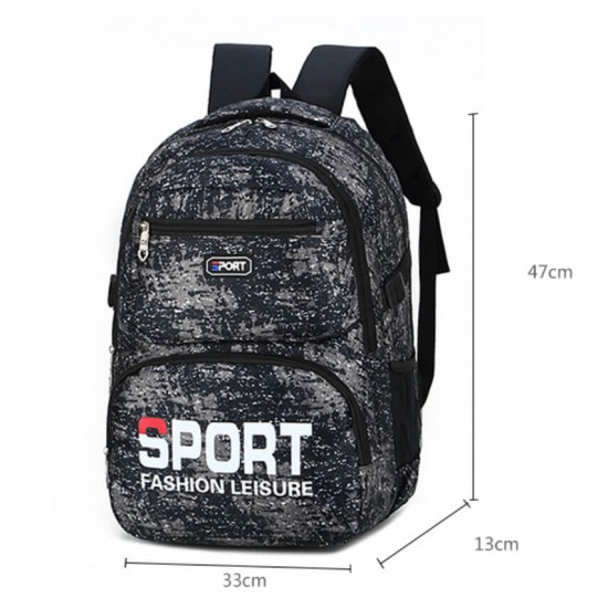 Mochila deportiva SPORT para hombres y niños MOC00134
