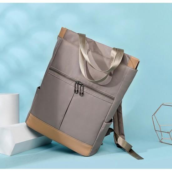 Mochila-bolso reversible de gran capasidad,impermeable, antirrobo, para la computadora MOC00152