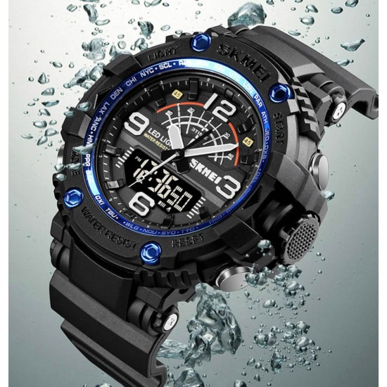 Reeloj deportivo contra agua para hombre REL00113