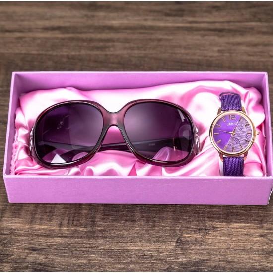 Set de regalo para mujer - reloj y lentes REL00066