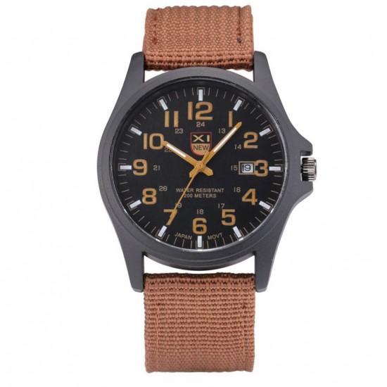 Reloj para hombre con correa de tela prensada  REL00087