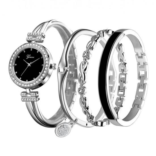 uego de reloj de pulsera de cuarzo para mujer REL00013
