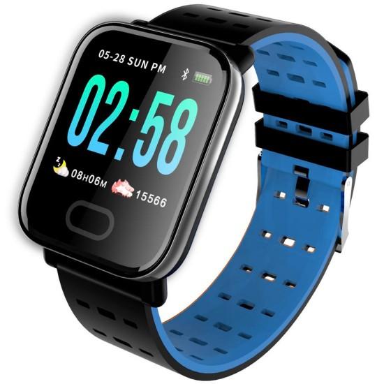 Reloj inteligente con correa de silicona A8 REL00118