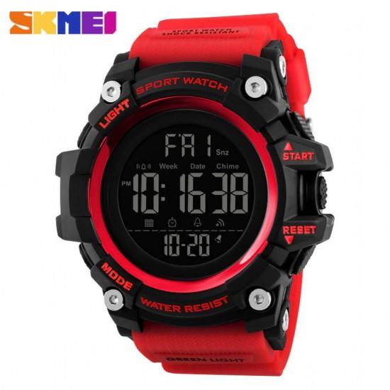 Reloj deportivo digital para hombre, militar, resistente al agua, pantalla LED, cronómetro, reloj despertador REL00137