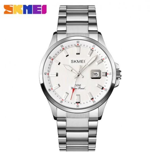 Reloj analogico para hombre con correa de acero inoxidable REL00147