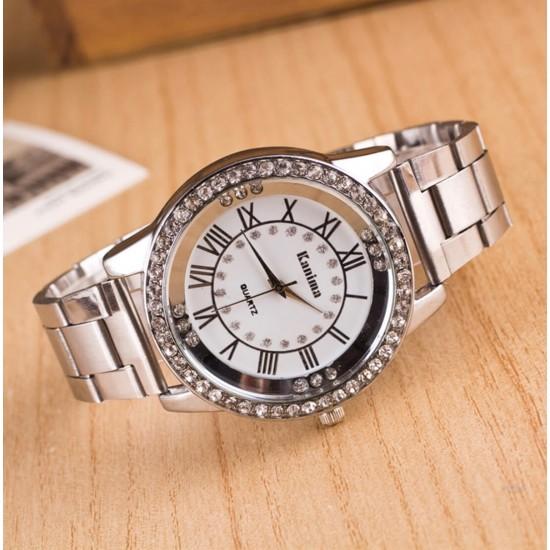 Reloj de cuarzo, correa de acero de aleación REL00038