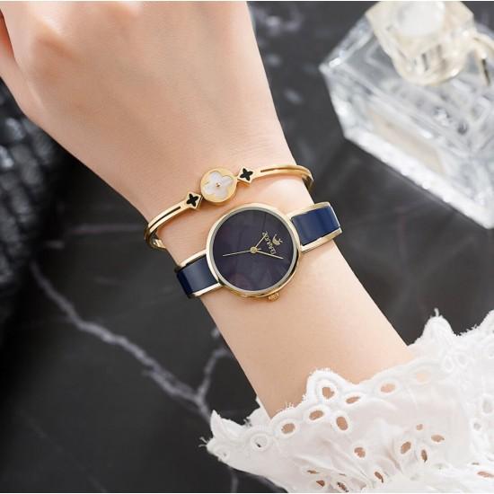 Juego de regalo para mujer reloj, pulsera, cadena REL00091