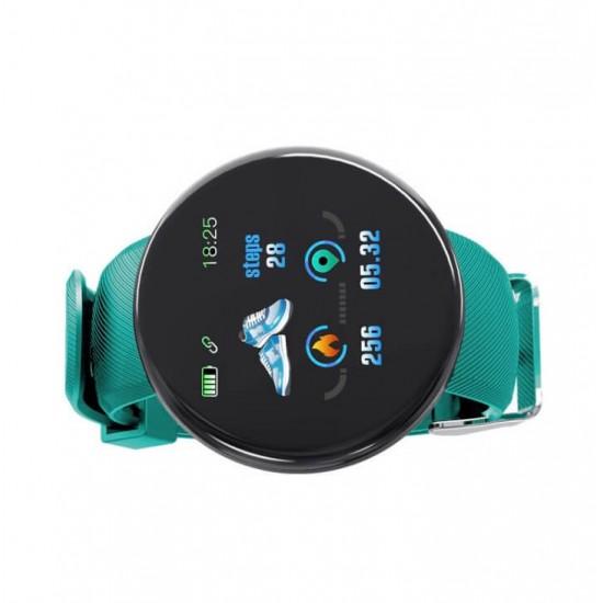 Reloj inteligente D18 con correa de silicona para hombre y para mujer REL00120