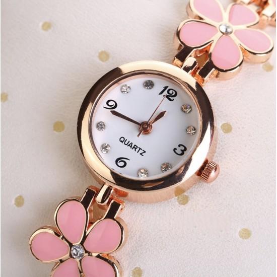 Trébol Flores, Reloj de cuarzo acero inoxidable REL00017