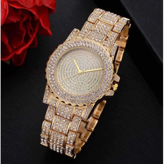 Set de regalo con perlas para mujer Reloj+pulsera+collar+aretes REL00071