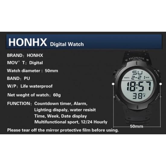 Reloj digital marca HONHX modelo 9001-1 REL00101