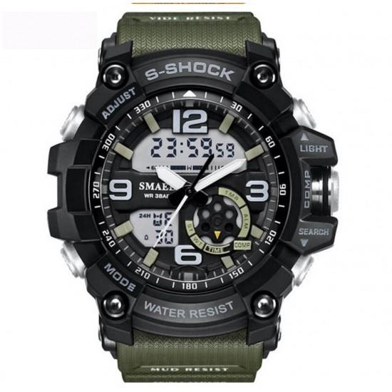 Reloj digital para hombre, reloj deportivo de moda multifunción REL00064