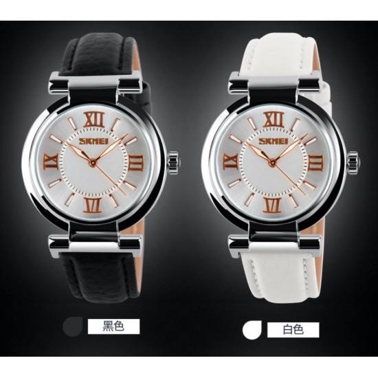 Reloj para mujer resistente al agua con correa de piel sintética REL00051